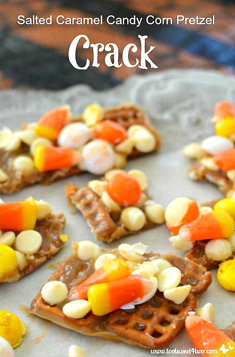 Salted Caramel Candy Corn Pretzel Crack Pic 1A