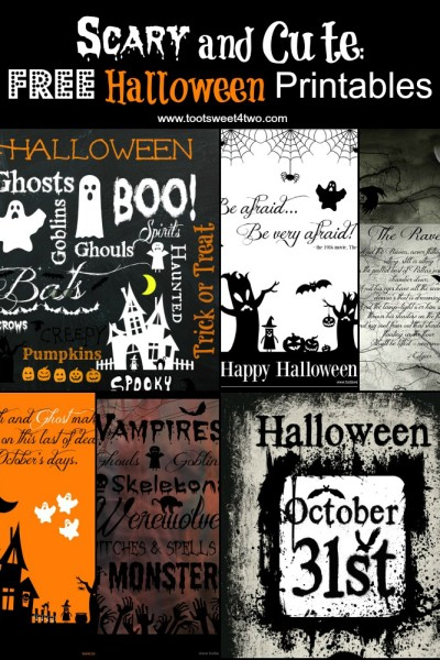Last Chance – 13 FREE Halloween Printables You Will Love!