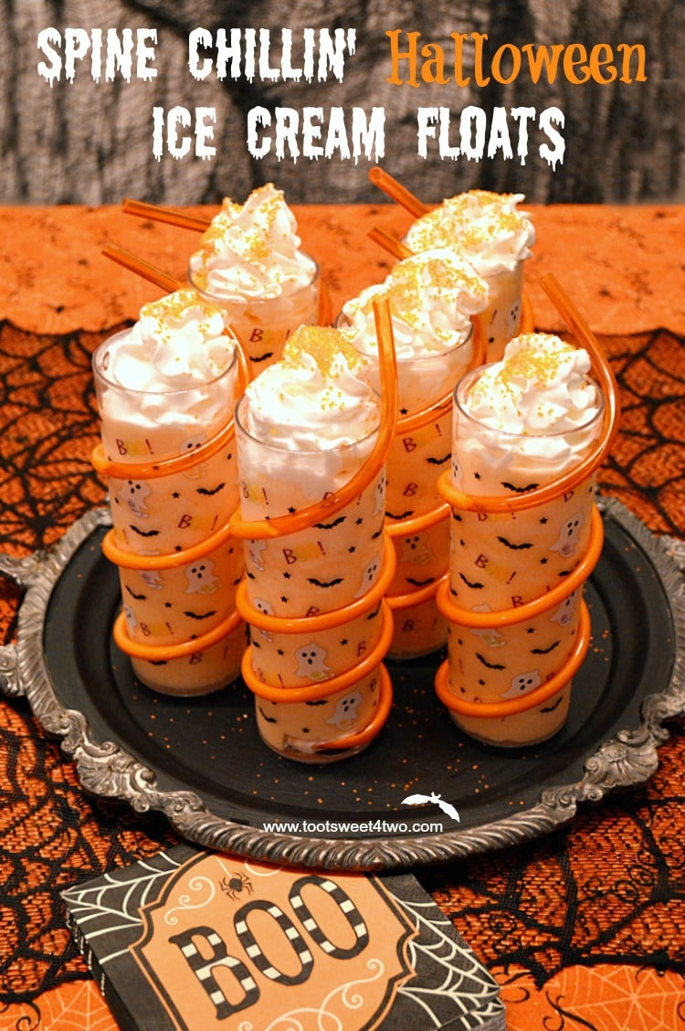 Spine Chillin Halloween Ice Cream Floats cover