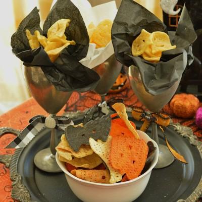 Halloween Hack:  Spooktacular Party Chips