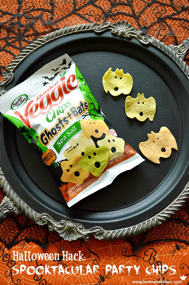 Spooktacular Veggie Chips