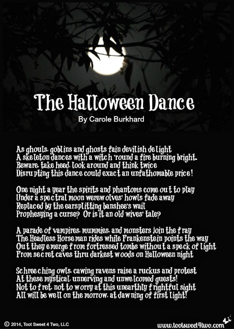The Halloween Dance 750x1054