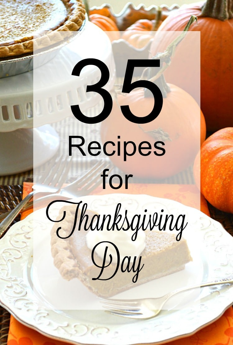 35 Recipes for Thanksgiving Day cover
