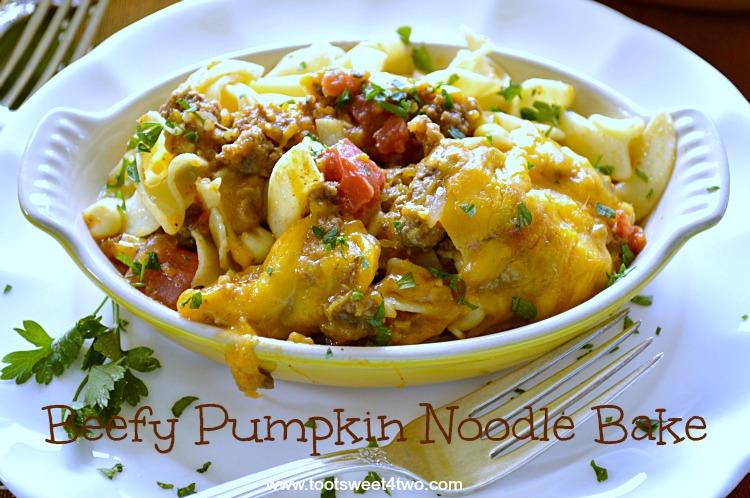 Beefy Pumpkin Noodle Bake Pic 2