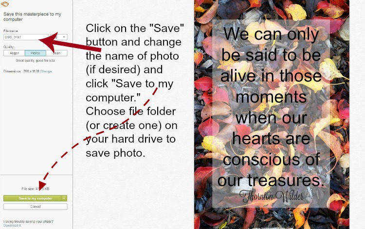 How to save a photo edited in PicMonkey instructions - 12