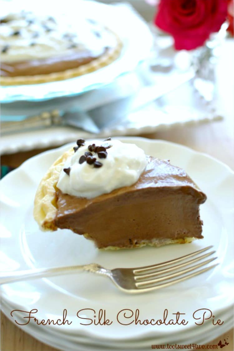 Thanksgiving Dessert - French Silk Chocolate Pie