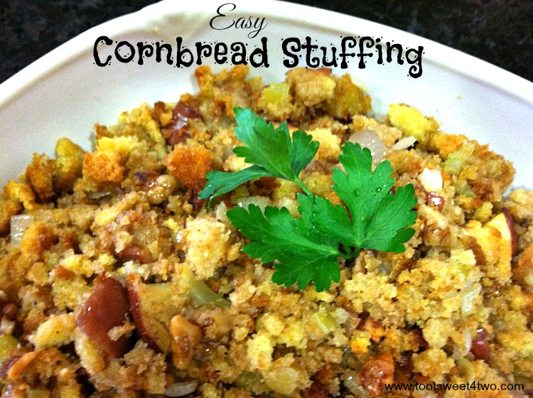 Thanksgiving Side Dish - Easy Cornbread Stuffing