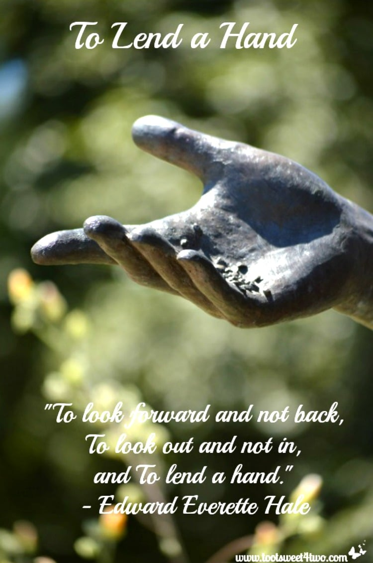 To Lend a Hand quote by Edward Everette Hale 750x1130