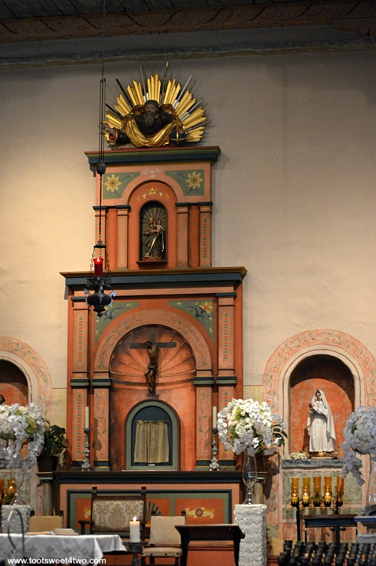 Altar at Mission San Diego de Alcala