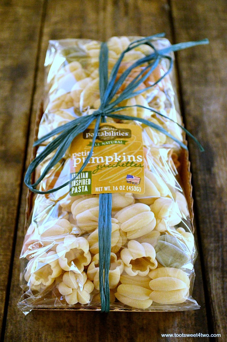 Bag of Pumpkin Zucchettes Pasta
