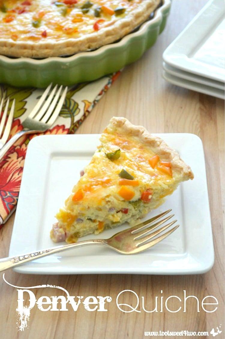 Denver Quiche - savory and delicious!