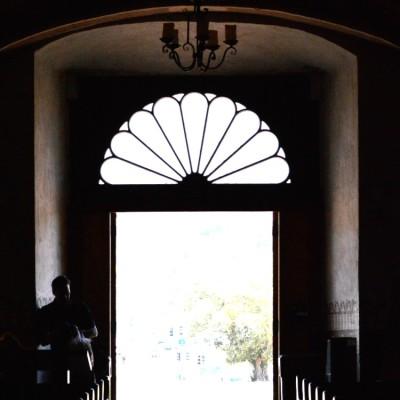 Inside Mission San Luis Rey Church