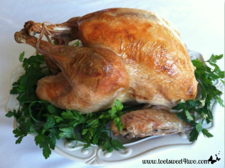 Foil-wrapped Roasted Turkey 750