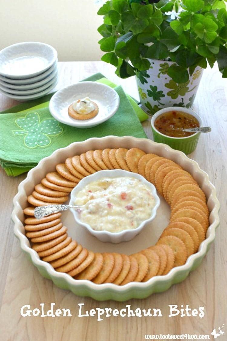 Golden Leprechaun Bites - easy and delicious appetizer recipe!