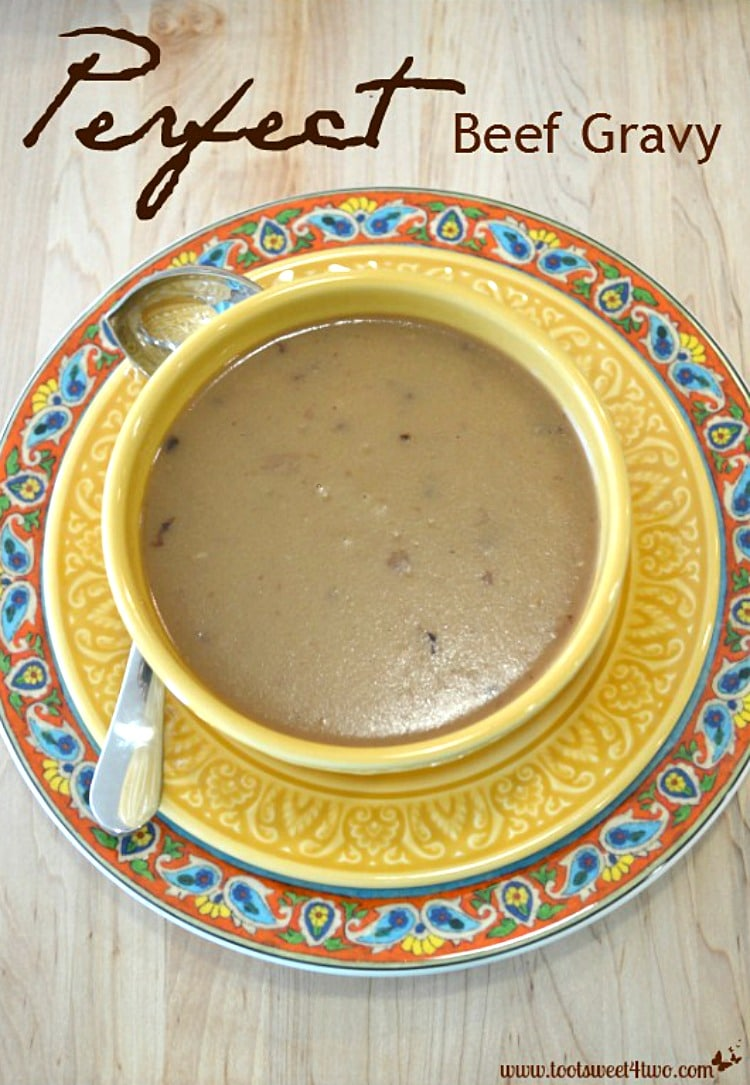 Perfect Beef Gravy from scratch!