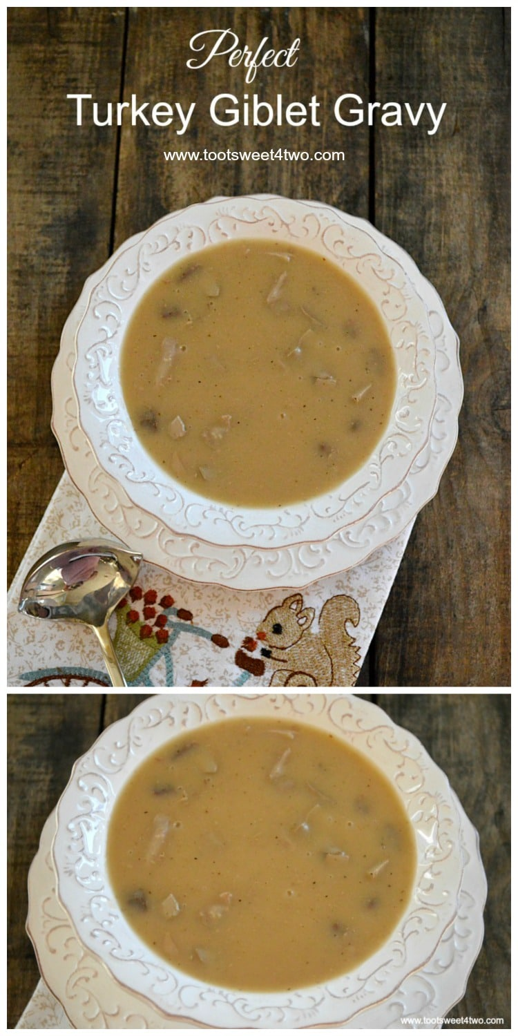 Perfect Turkey Giblet Gravy - perfect addition to your holiday turkey