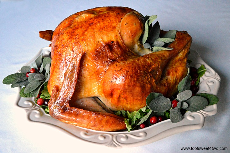 Picture-Perfect Holiday Turkey - juicy and delicious