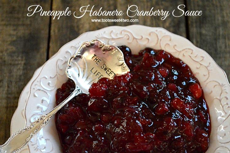 Pineapple Habanero Cranberry Sauce