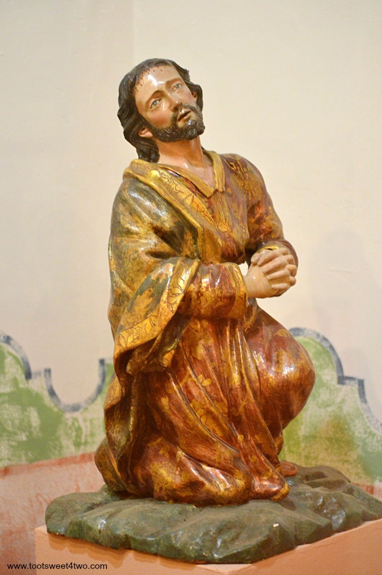 Statute of Jesus at Mission San Diego de Alcala