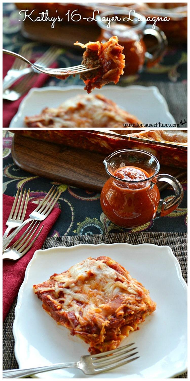 16-Layer Lasagna collage