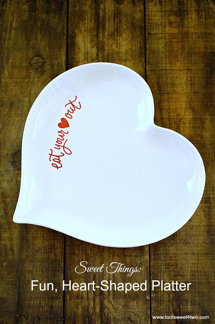 Heart-Shaped Platter from Target