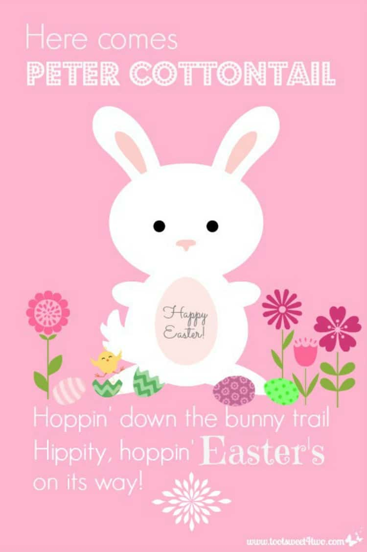 Here Comes Peter Cottontail PicMonkey Tutorial