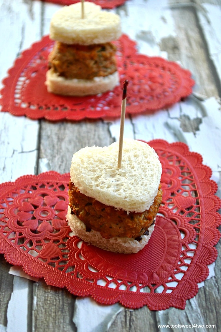 Mini Sweetheart Meatloaf Sandwiches cover