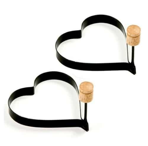 Norpro Heart Pancake Rings on Amazon