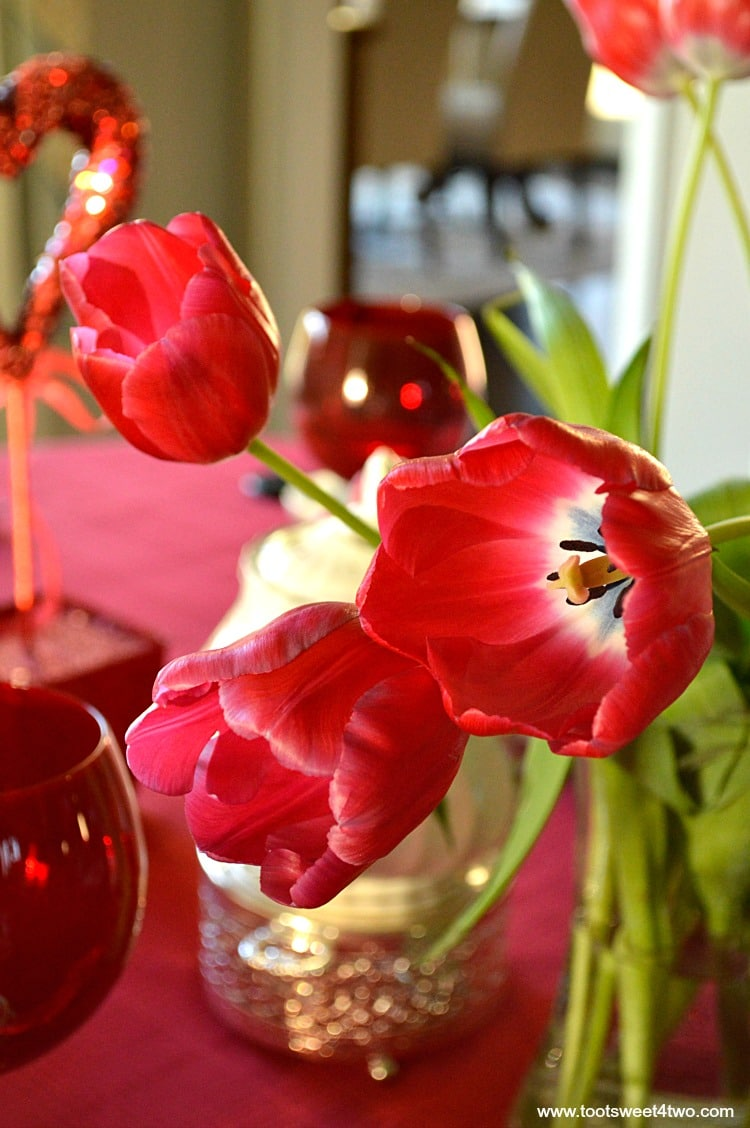 Red Tulips - Pic 3 - A Valentine's Day Tea Party Tablescape
