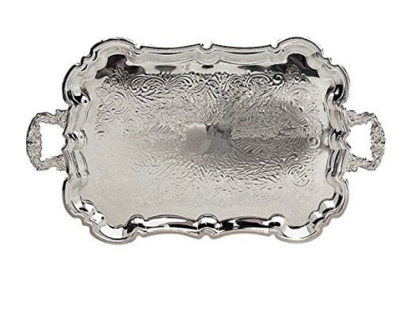 Silver Tray on Amazon