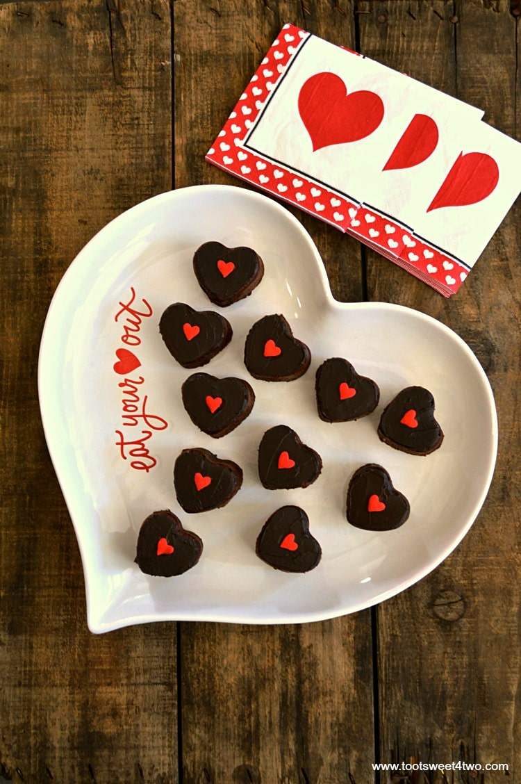 Sweetheart Brownie Bites - Pic 1