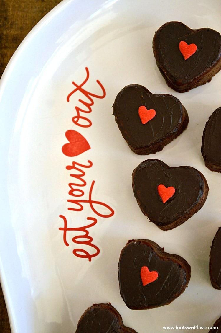 Sweetheart Brownie Bites - Pic 2