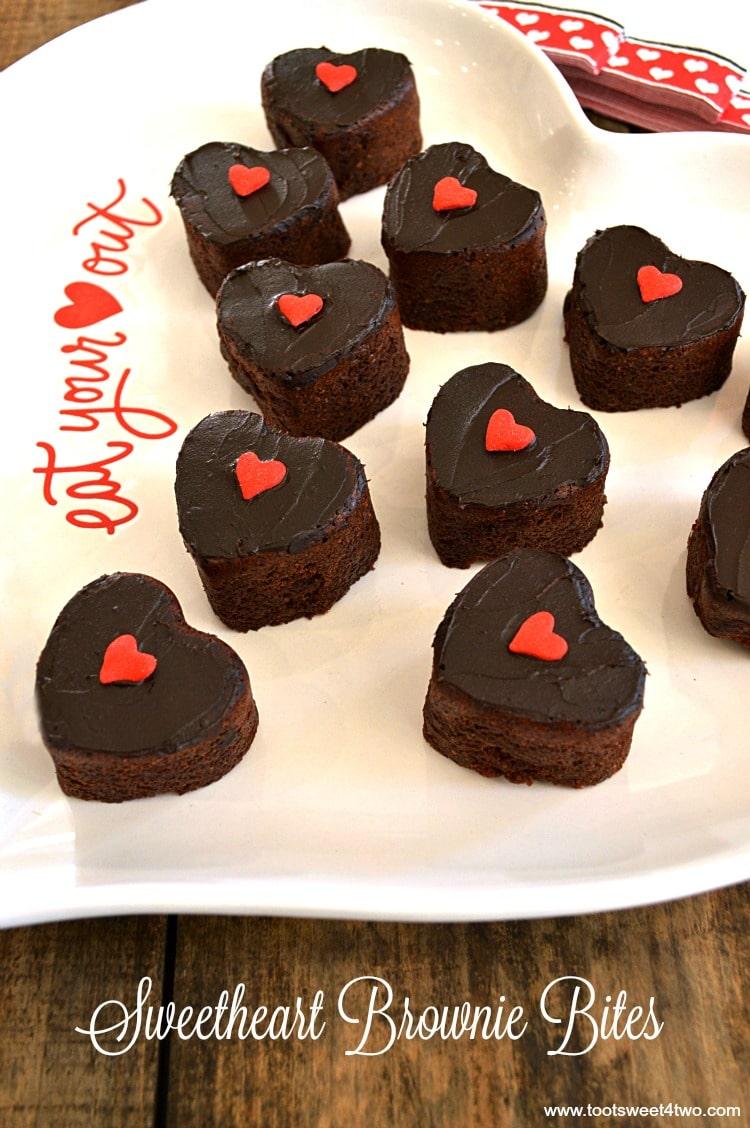 Sweetheart Brownie Bites - Pic 3