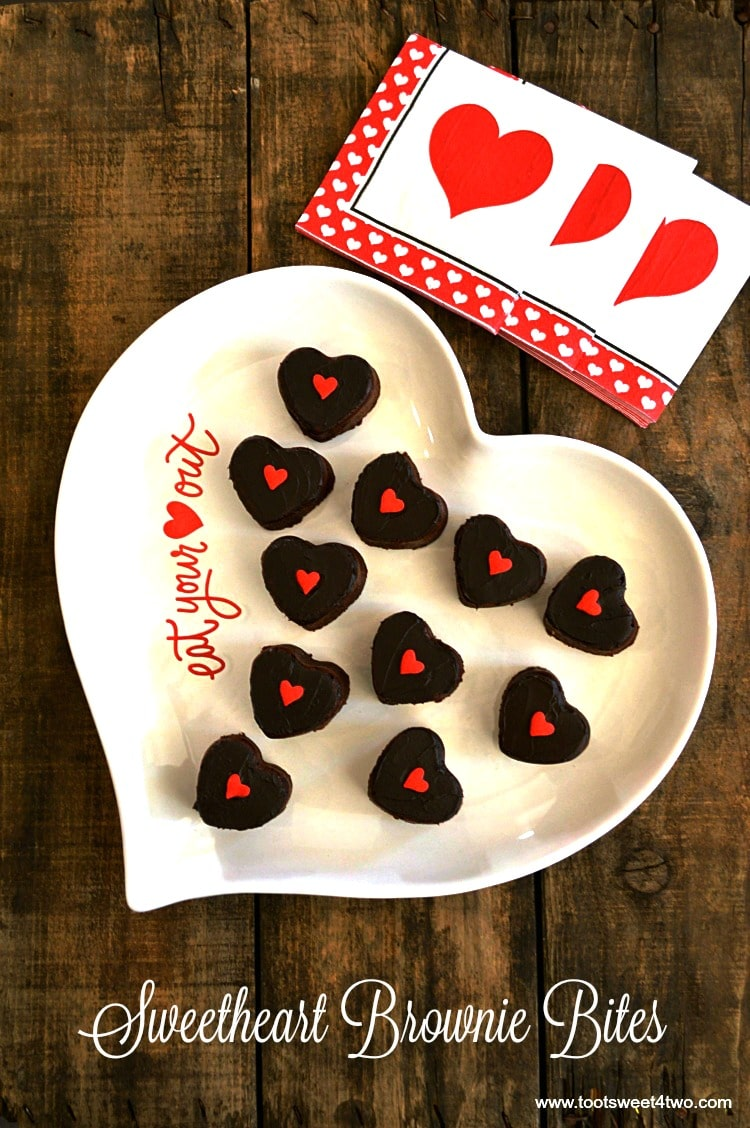 Sweetheart Brownie Bites - Pic 4