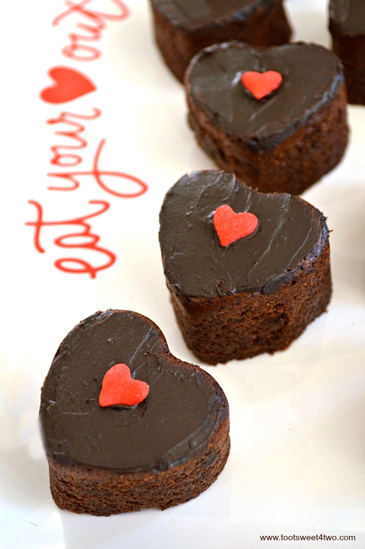 Sweetheart Brownie Bites - Pic 5