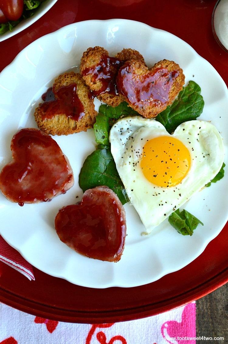 Sweetheart Ham and Egg Breakfast - Pic 2