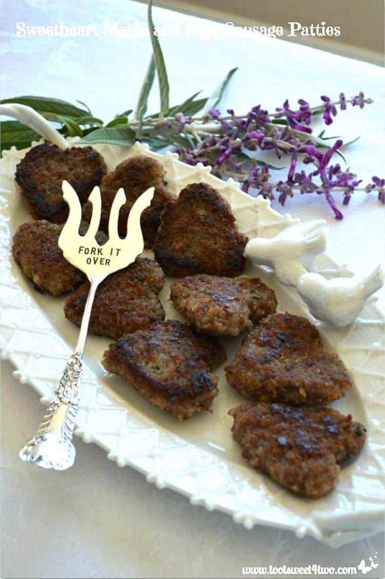 Sweetheart Maple Sage Sausage Patties