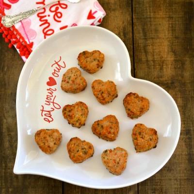 Sweetheart Turkey Meatballs