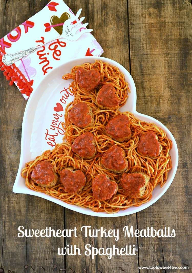 Sweetheart Turkey Meatballs with Spaghetti cover
