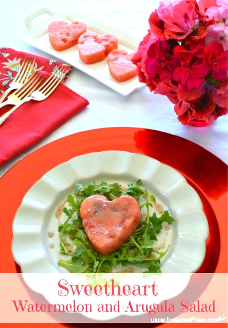 Sweetheart Watermelon and Arugula Salad 750x1077