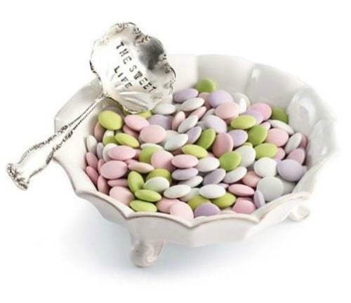 The Sweet Life Candy Dish and Spoon by Mud Pie