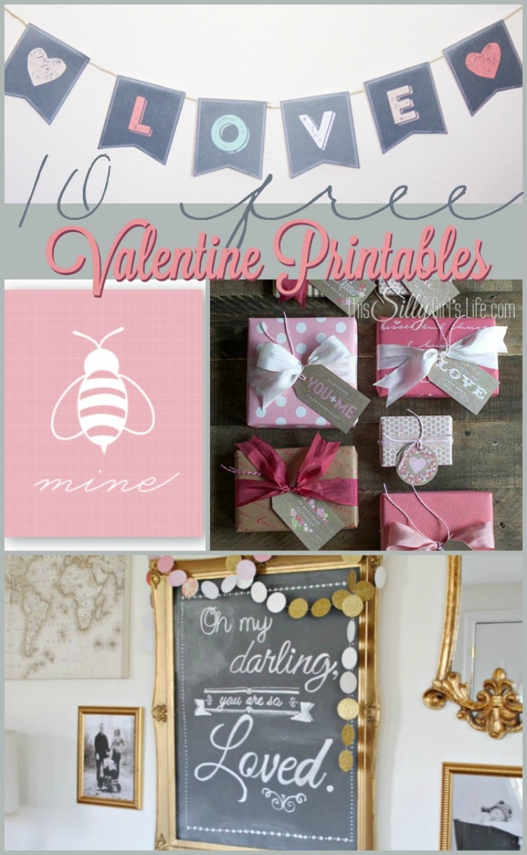 This Silly Girl's Kitchen Valentine's Day Printables Roundup