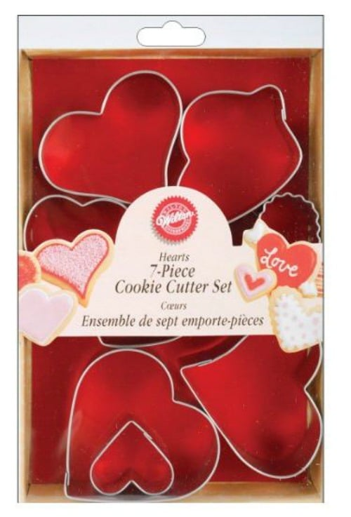 Wilton Hearts Cookie Cutter Set on Amazon