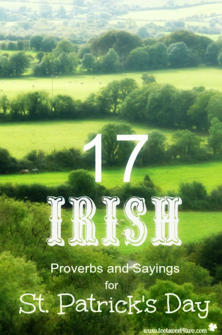 17 Irish Proverbs and Sayings for St. Patrick's Day 750x1133