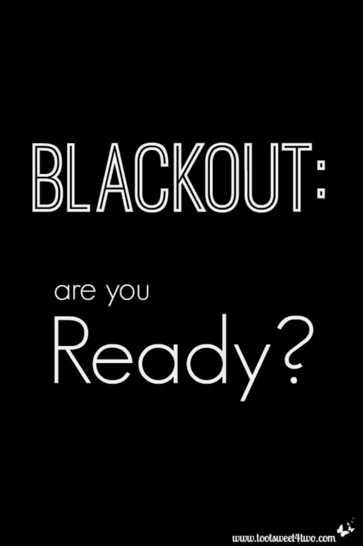 Blackout Are You Ready 750x1126