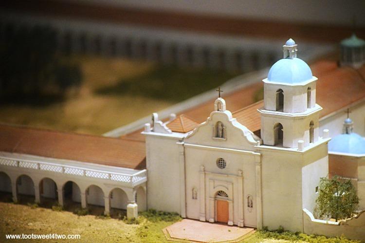 Mission San Luis Rey diorama