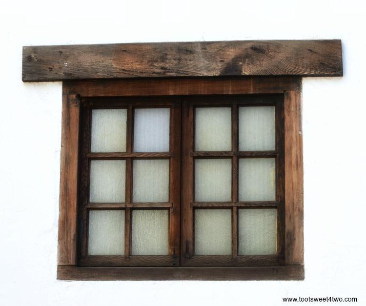 Window at Mission San Luis Rey de Francia