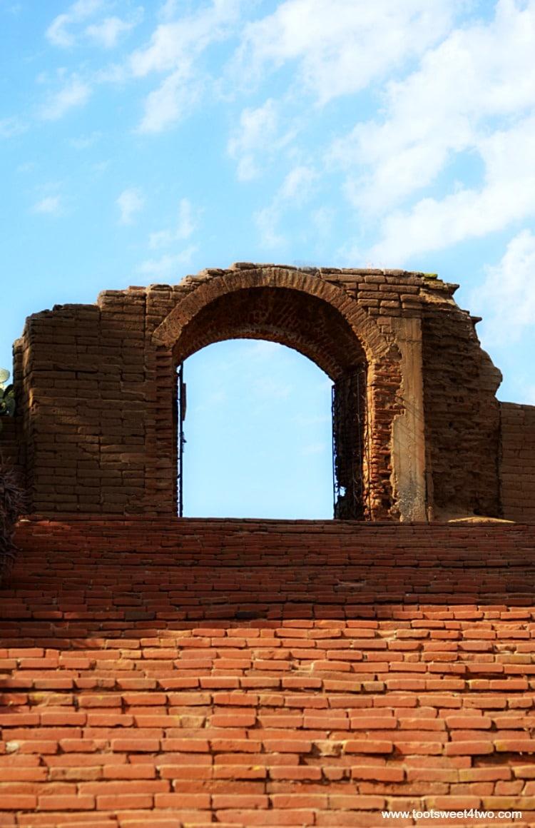 Old Mission San Luis Rey Lavanderia stairway