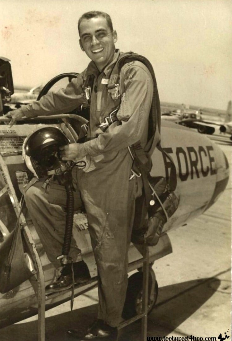 My father the Air Force pilot