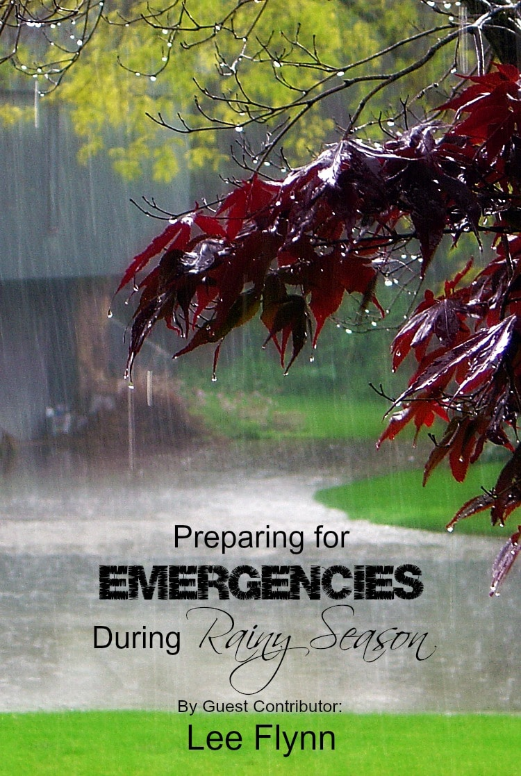 How can you plan ahead to make sure you are as prepared as possible for emergency situations during rainy season? Heavy rains could mean evacuation of you and your family because of flash floods. Water flooding into your home due to heavy rains or even a burst pipe could happen. Plan ahead for heavy rains and flash flooding with these tips on preparing for emergencies during rainy season. | www.tootsweet4two.com